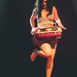 Kitty Litteur performing at the Toronto Burlesque Festival Teaser show, Bombshell