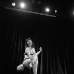 Kitty Bang Bang Halloway performing at the Vermont Burlesque Festival 2016 Thursday night show.