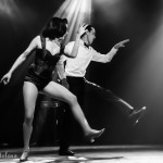 Laura Desiree and SMB performing at the Toronto Burlesque Festival Teaser show, Bombshell