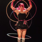 Lady Hoops performing at the 2014 Toronto Burlesque Festival Day 3