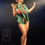 Lady Jospehine performing at the 2014 Toronto Burlesque Festival