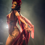 Laura Desiree performing at the Toronto burlesque show Girlesque 2015, the Saturday late show.