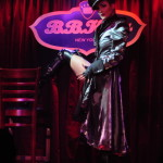 Laura Desiree performing at the New York Burlesque Festival 2016 Saturday night Extravaganza at BB Kings.