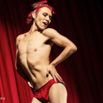 Leelando performing at the Toronto Burlesque Festival 2014 Day 1