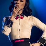 Leelando Calrissian performing at Nerd Girl Burlesque's Video Game Burlesque Tribute Show, Toronto.