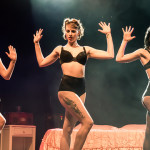 Les Femmes Rebelles performing at the Toronto burlesque show, Girlesque 2015, the Sunday show