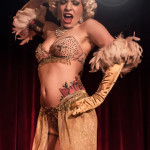 Lil' Steph performing at the 2014 New York Burlesque Festival