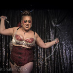 Lilly Snatchdragon performing at Cabaret Roulette in London