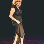 Liza Jourdain onstage for the 2015 Burlesque Hall of Fame Weekend Legends of Burlesque Walk of Fame.
