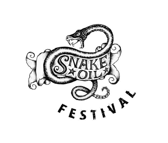 New Orleans Snakeoil Festival logo, from interview with producers