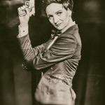 Loretta Jean performing at Nerd Girl Burlesque's Video Game Burlesque Tribute Show, Toronto.
