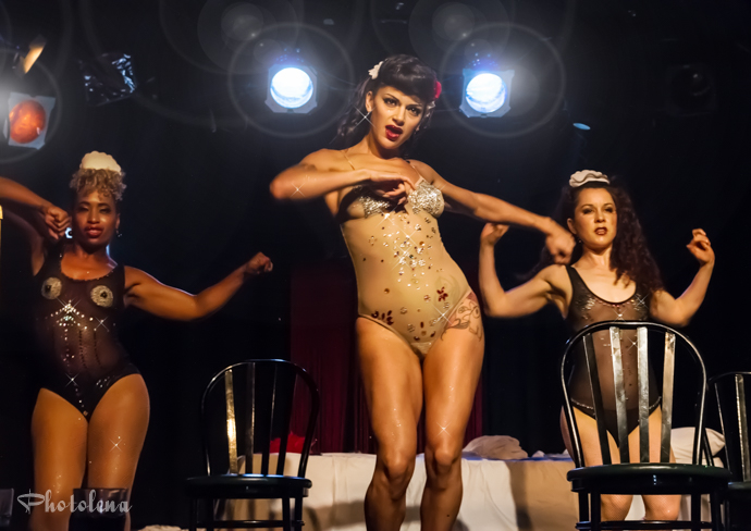 Love Letters Cabaret performing at the Toronto Burlesque Festival 2014 Day 1