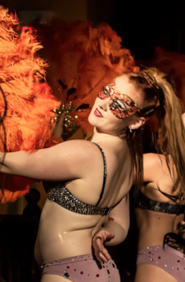 The Toronto burlesque show, Love Letters Cabaret: Eden, on October 28th, 2014 at Lula Lounge.
