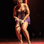 Lucky Minx performing at the 2014 Toronto Burlesque Festival Day 2