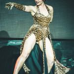 Lucy Sky Diamond performing at the New York Burlesque Festival 2015 Sunday night Golden Pasties awards show at Highline Ballroom.