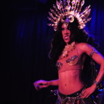 Lux Lacroix performing at the New York Burlesque Festival 2016 Saturday night Extravaganza at BB Kings.