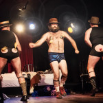 Mansfield Brothers performing at the Toronto Burlesque Festival 2014 Day 1: Hotel Tryst