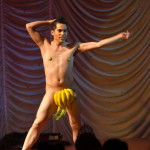 Matt Finish performing at the 2015 Great Burlesque Exposition 9, The Main Event.