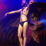 Matt Knife performing at Hotsy Totsy Burlesque show Wizard of Oz Burlesque at the Slipper Room, NYC.