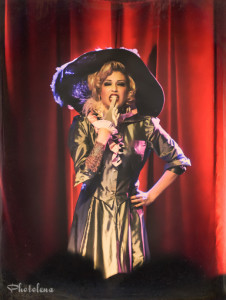 Maxi Millions performing at the 2014 New York Burlesque Festval