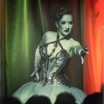 Medianoche performing at the 2014 New York Burlesque Festval