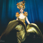 Medianoche performing at the New York Burlesque Festival 2015 Sunday night Golden Pasties awards show at Highline Ballroom.
