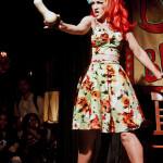 Melody Mangler performing at Bushwick Burlesque 4 year anniversary show at Bizarre Bushwick