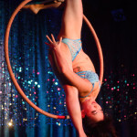 Midnite Martini performing at Burlesque on Broadway at Lannie's Clocktower Cabaret in Denver, Colorado.