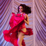Mika Romantic performing at the 2015 Great Burlesque Exposition 9, The Main Event.