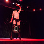 Mike Monaco performing at the Vermont Burlesque Festival 2016 Thursday night show.