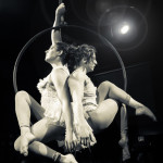 Miranda Tempest and Faye Tal performing at the Toronto burlesque show Girlesque 2015, the Saturday early show.