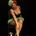 Miss Mitzy Cream performing at the 2014 Toronto Burlesque Festival Day 3