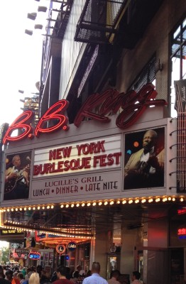 New York Burlesque Festival Marquis at BB Kings Blues Club