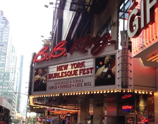 New York Burlesque Festival Marquis at BB Kings Blues Club