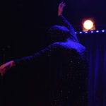 Bella Blue performing at The 2017 New York Burlesque Festival Saturday night show at BB Kings.