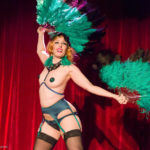 Delilah performing at the 2017 New York Burlesque Festival Thursday night Teaser party at the Bell House.