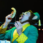Evil Hate Monkey performing at The 2017 New York Burlesque Festival Saturday night show at BB Kings.