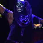 Isaiah Esquire performing at The 2017 New York Burlesque Festival Saturday night show at BB Kings.