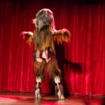 Jenny C'est Quoi performing at the 2017 New York Burlesque Festival Thursday night Teaser party at the Bell House.
