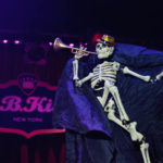 Julie Atlas Muz performing at The 2017 New York Burlesque Festival Saturday night show at BB Kings.