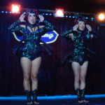 Kitten N' Lou performing at The 2017 New York Burlesque Festival Saturday night show at BB Kings.
