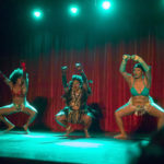MFA performing at the 2017 New York Burlesque Festival Thursday night Teaser party at the Bell House.
