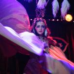 Mara De Nudee performing at The 2017 New York Burlesque Festival Saturday night show at BB Kings.