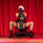 Misc Allaneous Dom Top performing at the 2017 New York Burlesque Festival Thursday night Teaser party at the Bell House.