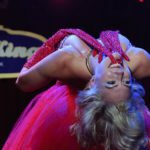 Missy Lisa performing at The 2017 New York Burlesque Festival Saturday night show at BB Kings.