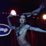 Raquel Reed performing at The 2017 New York Burlesque Festival Saturday night show at BB Kings.