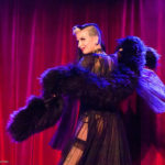 Stella Sin performing at the 2017 New York Burlesque Festival Thursday night Teaser party at the Bell House.
