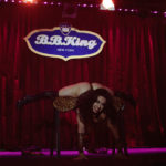 Sweetpea performing at The 2017 New York Burlesque Festival Saturday night show at BB Kings.