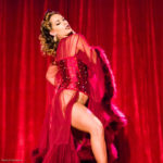 Taradise performing at the 2017 New York Burlesque Festival Thursday night Teaser party at the Bell House.