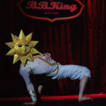 Topher Bousquet performing at The 2017 New York Burlesque Festival Saturday night show at BB Kings.